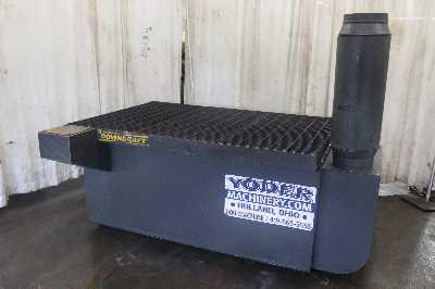 4 X 6 Diversitech Downdraft Model Dd 4x6 Welding Table